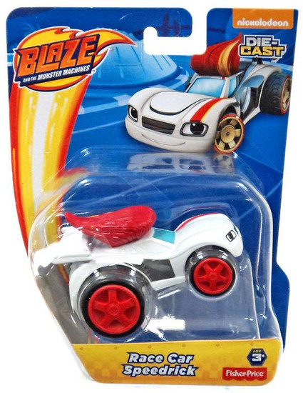 Fisher Price Blaze & the Monster Machines Race Car Speedrick Diecast Car