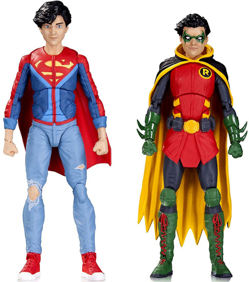 DC Comics Icons Superboy & Robin Action Figure 2-Pack