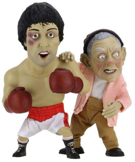 NECA Rocky & Mickey Puppet Maquette Set