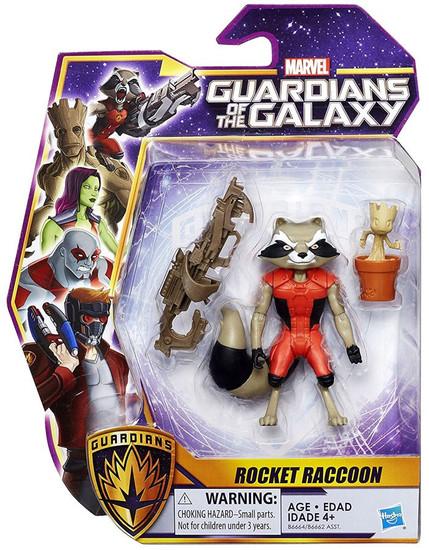 Marvel Guardians of the Galaxy Rocket Raccoon Action Figure