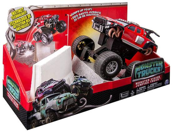 Monster Trucks Monster Vision Jumping Truck Vehicle