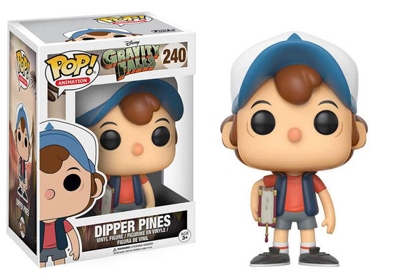 Funko Gravity Falls POP! Animation Dipper Pines Vinyl Figure #240 [Full Color, Regular Version]