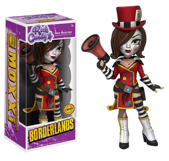 Funko Borderlands Rock Candy Mad Moxxi Vinyl Figure [Red Outfit, Chase Version]