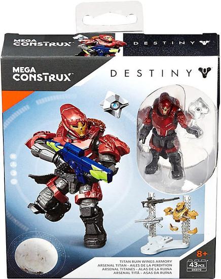 Destiny Titan Ruin Wings Armory Set