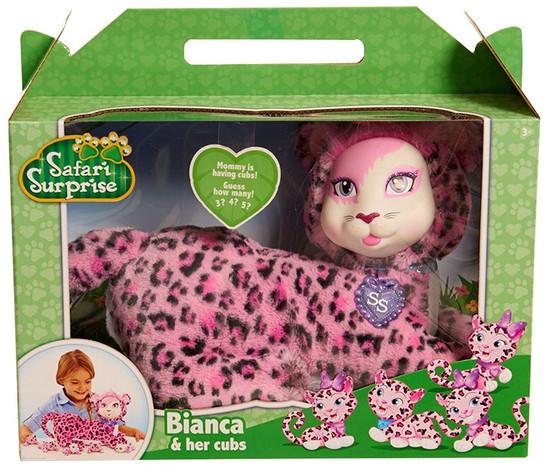 Safari Surprise Bianca & Her Cubs Plush Toy