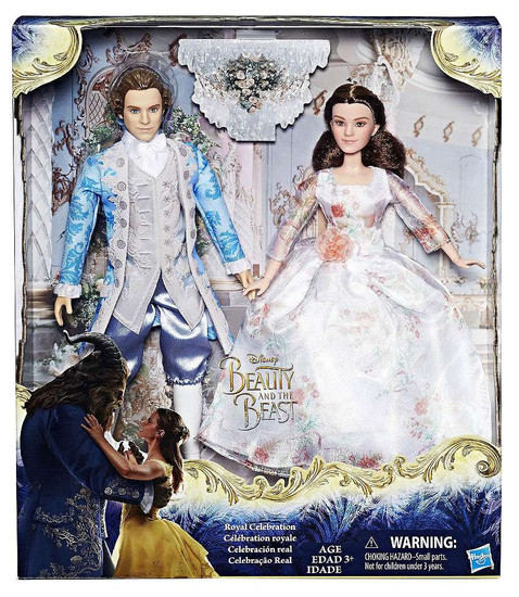 Disney Princess Beauty and the Beast Film Collection Belle & Gaston Exclusive Doll 2-Pack [Royal celebraton]