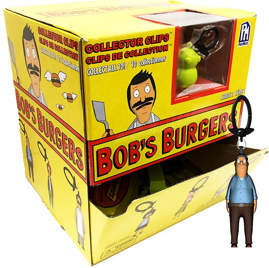 Clip On Hanger Bob's Burgers Mystery Box [24 Packs]