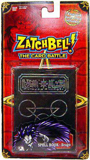 Zatch Bell The Card Battle Brago's Black Spell Book Set [Rainbow Inlay, Loose]