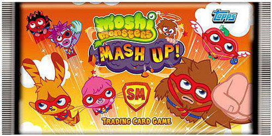 Moshi Monsters Trading Card Game Series 2 Mash Up! Booster Pack [UK Version]