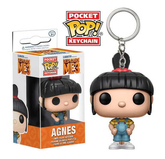 Funko Despicable Me 3 Pocket POP! Movies Agnes Keychain