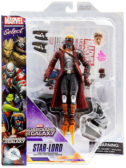 Guardians of the Galaxy Marvel Select Star Lord Exclusive Action Figure