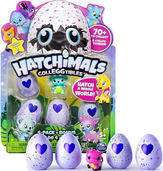 Hatchimals Colleggtibles Season 1 Mystery 4-Pack + Bonus