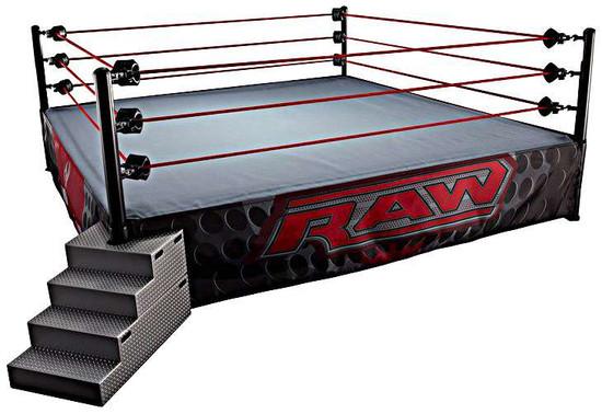 WWE Wrestling Elite Scale Ring Playset [Raw, Damaged Package]