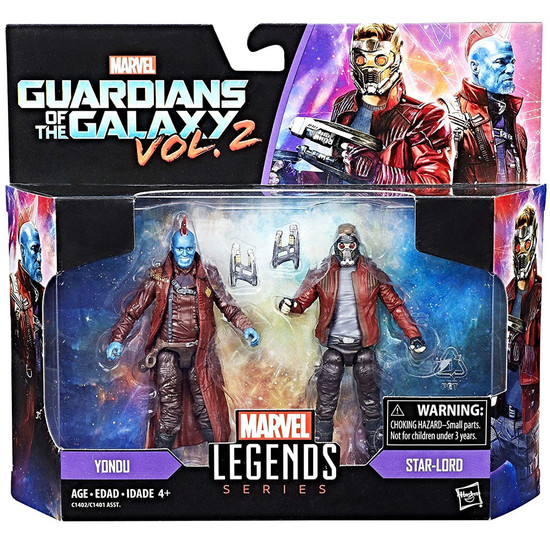 Guardians of the Galaxy Vol. 2 Marvel Legends Star-Lord & Yondu Action Figure 2-Pack
