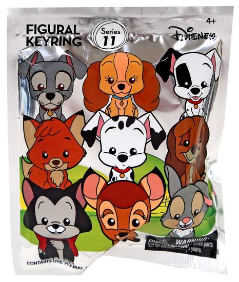 3D Figural Keyring Disney Series 11 Mystery Pack [1 RANDOM Figure]