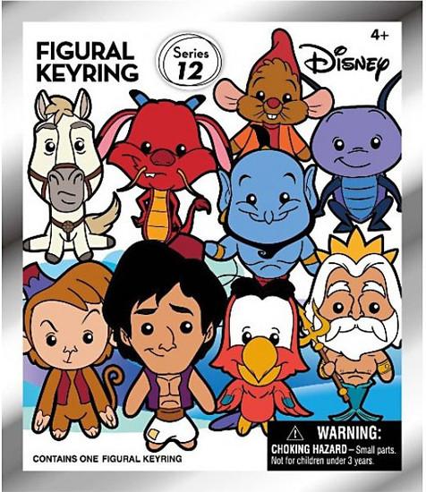 3D Figural Keyring Disney Series 12 Mystery Pack [1 RANDOM Figure]
