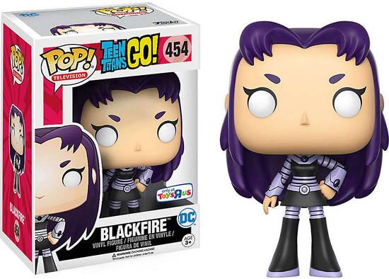 Funko Teen Titans Go! POP! TV Blackfire Exclusive Vinyl Figure #454