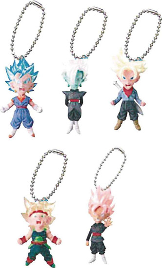 Dragon Ball Super UDM Mini Mascot Collection Mascot Charm 1.6-Inch Mystery Box [18 Packs]