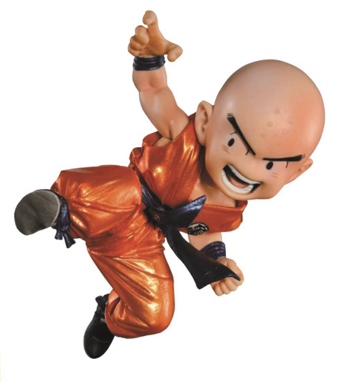 Dragon Ball Z DBZ Sculptures Krillin Figure [Special Color Version]