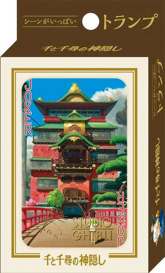 Studio Ghibli Spirited Away Playing Card Deck