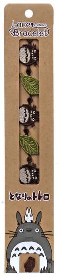 Studio Ghibli My Neighbor Totoro & Green Leaf Bracelet
