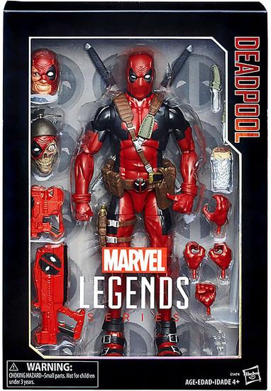 Marvel Legends Deadpool Deluxe Collector Action Figure