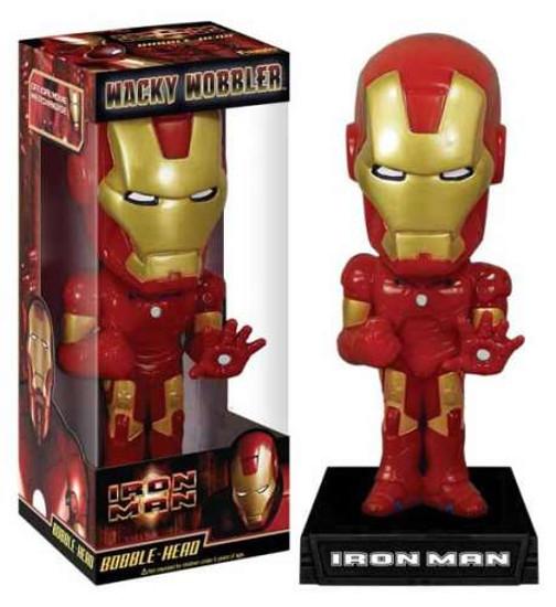 Funko Wacky Wobbler Iron Man Bobble Head [Iron Man Movie, Damaged Package]