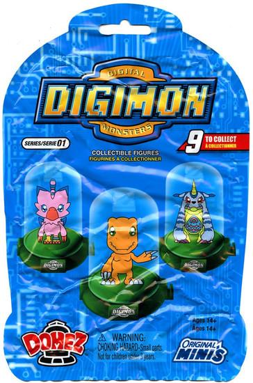 Domez Digimon Mystery Pack [1 RANDOM Figure]