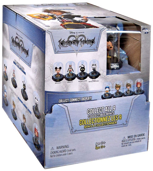 Disney Domez Kingdom Hearts Mystery Box [24 packs]
