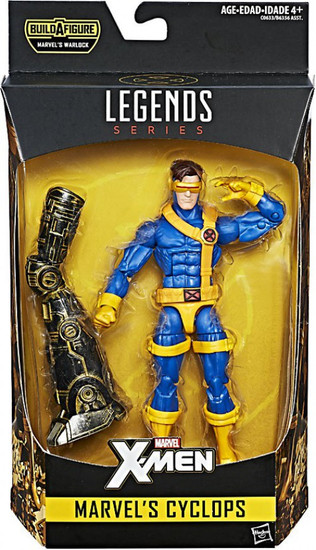 X-Men Marvel Legends Warlock Series Cyclops Action Figure
