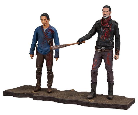 McFarlane Toys The Walking Dead AMC TV Negan & Glenn Action Figure 2-Pack [Lucille Bat!]