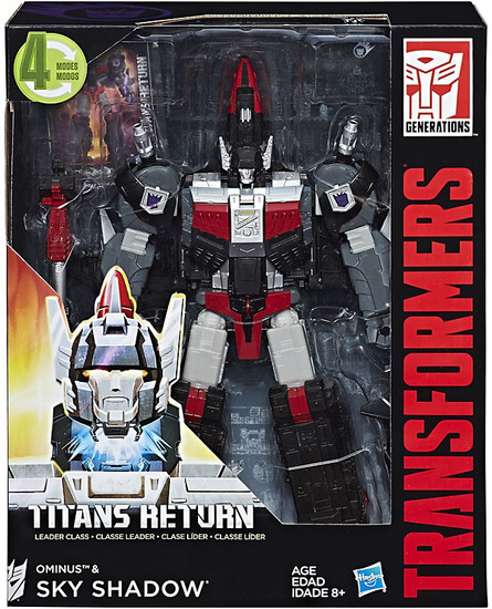 Transformers Generations Titans Return Ominus & Sky Shadow Leader Action Figure