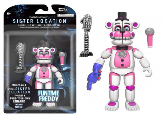 Funko Five Nights at Freddy's Sister Location Funtime Freddy Action Figure [Build Ennard Part]