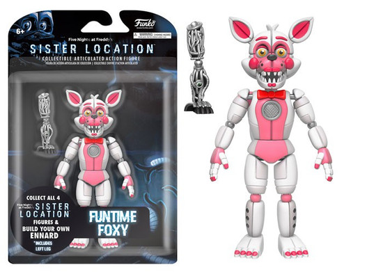 Funko Five Nights at Freddy's Sister Location Funtime Foxy Action Figure [Build Ennard Part]
