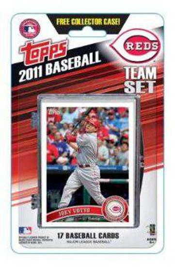 MLB 2011 Topps Baseball Cards Cincinatti Reds Team Set
