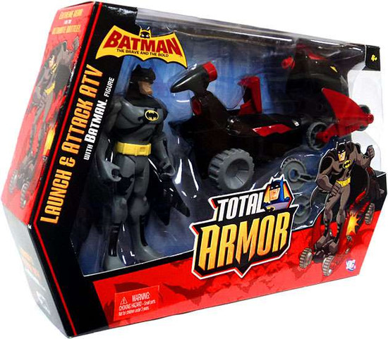 Batman Brave and the Bold Total Armor Launch and Attack ATV Vehicle & Figure [Batman]