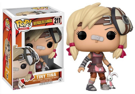 Funko Borderlands POP! Games Tiny Tina Vinyl Figure