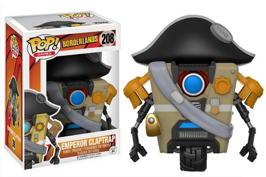 Funko Borderlands POP! Games Emperor Claptrap Vinyl Figure
