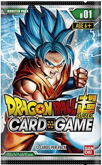 Dragon Ball Super Collectible Card Game Series 1 Galactic Battle Booster Pack DBS-B01
