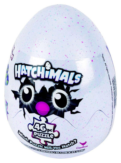 Hatchimals EGG Mystery Puzzle [46 Pieces]