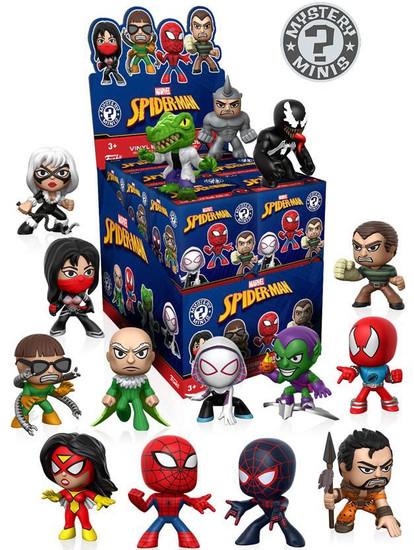 Funko Marvel Mystery Minis Spider-Man Classic Mystery Box [12 Packs]