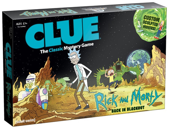 Rick & Morty Clue Rick and Morty