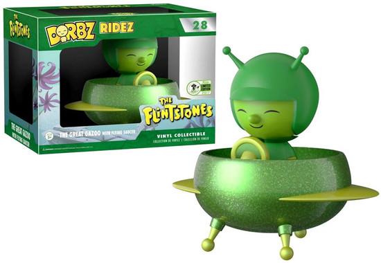 Funko Hanna-Barbera The Flintstones Dorbz Ridez The Great Gazoo with Flying Saucer Exclusive Vinyl Collectible #28