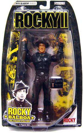 Rocky II Best of Rocky Series 2 Rocky Balboa Action Figure [Damaged Package]