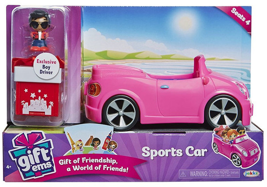 Gift 'Ems Sports Car Vehicle [Exclusive Boy Driver]