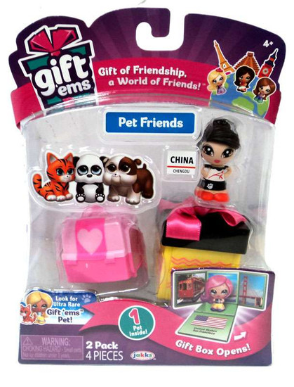 Gift 'Ems Pet Friends Series 1 China 2-Pack
