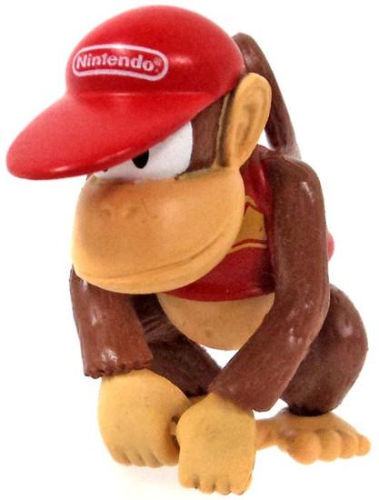 Super Mario Diddy Kong 2-Inch Mini Figure [Loose]