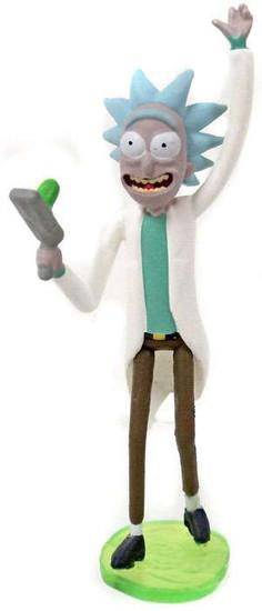 Rick & Morty Rick 2-Inch Mini Figure [with Portal Gun Loose]