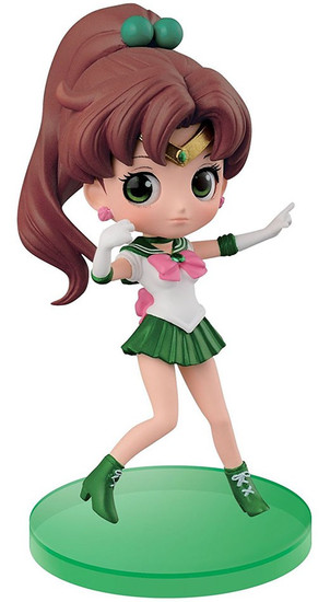 Sailor Moon 20th Anniversary Q Posket Petit Vol. 2 Sailor Jupter 2.8-Inch Collectible Figure