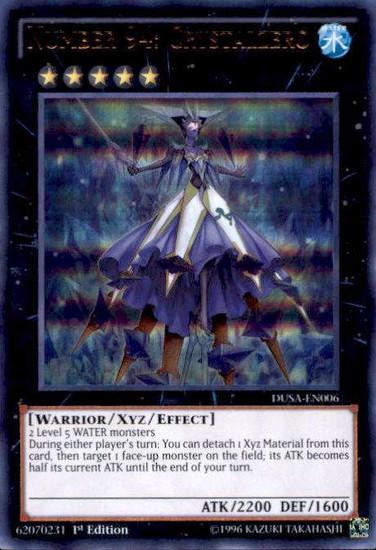 YuGiOh Duelist Saga Ultra Rare Number 94: Crystalzero DUSA-EN006